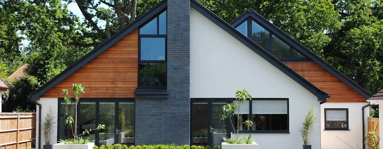 House in Chandlers Ford II Casas modernas por LA Hally Architect Moderno
