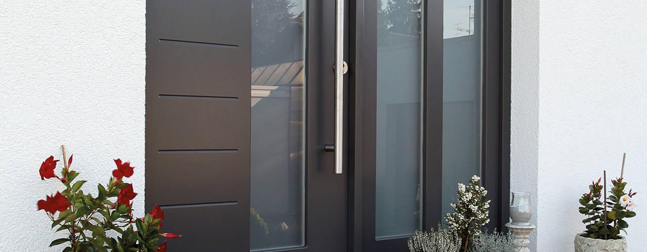 أبواب رئيسية تنفيذ FingerHaus GmbH - Bauunternehmen in Frankenberg (Eder) , بحر أبيض متوسط