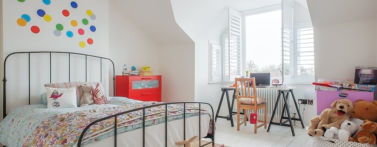 Full House Renovation with Crittall Extension, London Eclectic style nursery/kids room by HollandGreen Eclectic