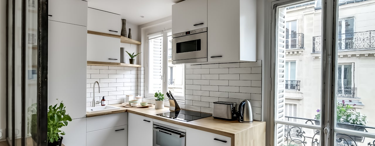 Scandinavian style kitchen by bypierrepetit Scandinavian