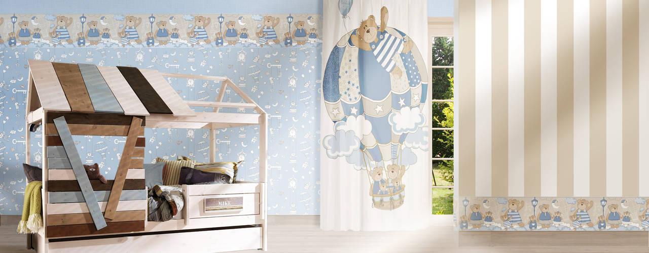 غرفة الاطفال تنفيذ TAPETENMAX® - Kröger GmbH