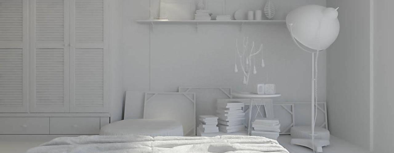 Ali İhsan Değirmenci Creative Workshop – Yatak Odası (Bed Room):  tarz Yatak Odası