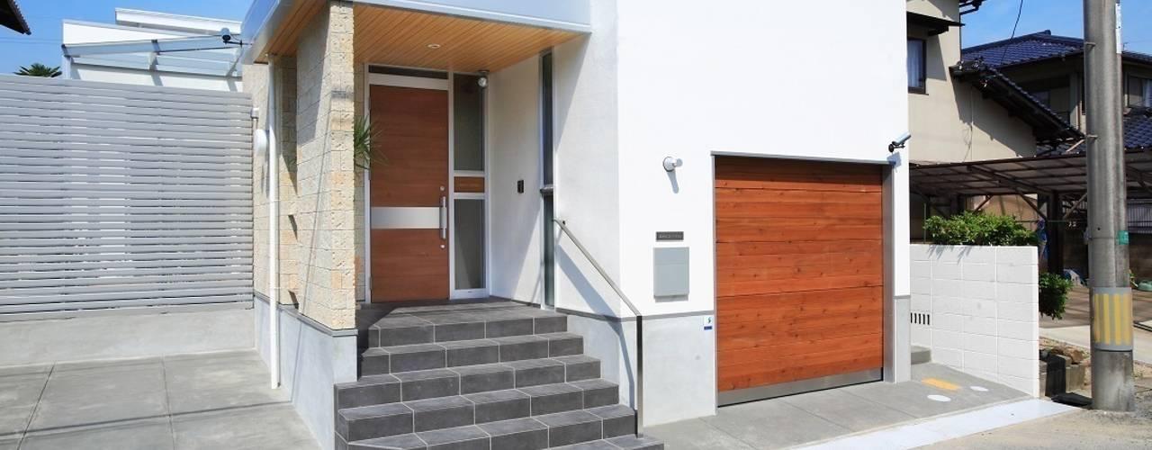 Casas de estilo  por ヒロ・デザイン・ラボ