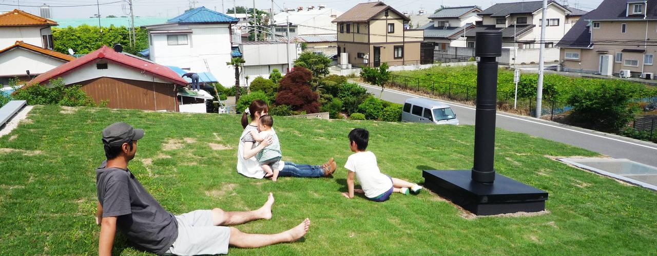 芝生の屋根|mat house: KAZ建築研究室が手掛けた家です。