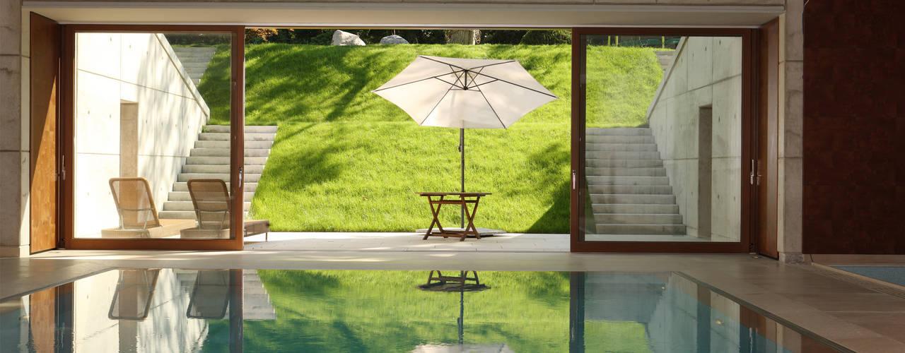 Villa in Othmarschen Andreas Edye Architekten Moderne Pools