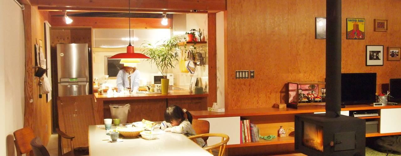 キッチン|mat house: KAZ建築研究室が手掛けたキッチンです。
