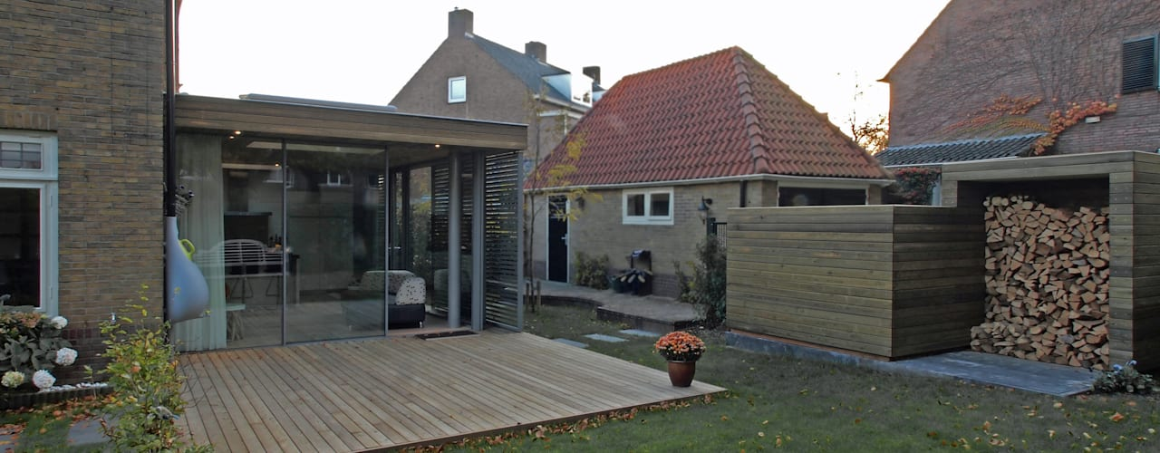 Tuinkamer te Arnhem Moderne serres van Roorda Architectural Studio Modern