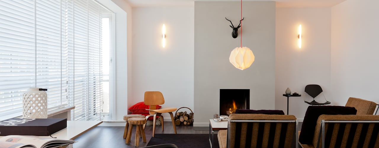 419: moderne Woonkamer door JUMA architects