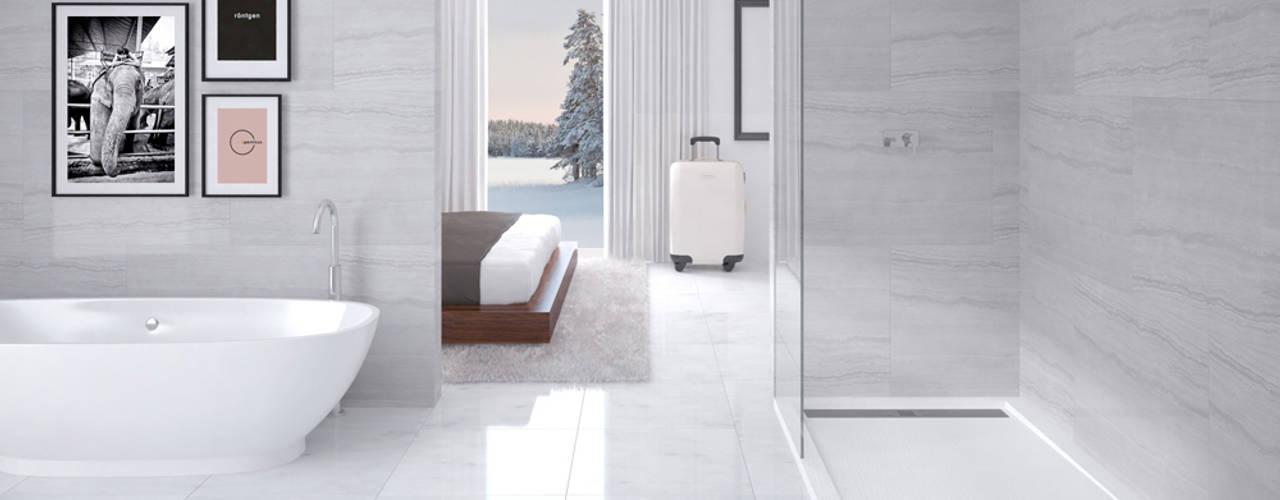 Ванные комнаты в . Автор – NUOVVO, Минимализм