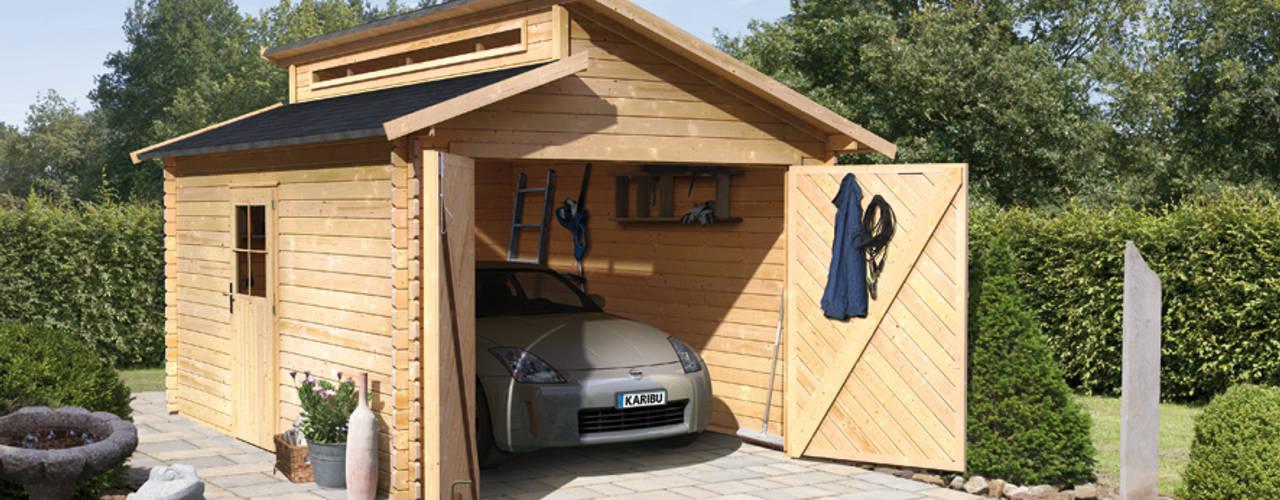 Projekty,  Garaż zaprojektowane przez GartenXXL