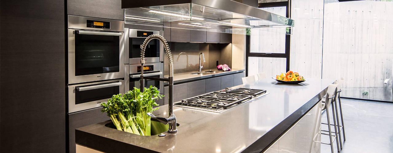 Cocinas de estilo  por grupoarquitectura