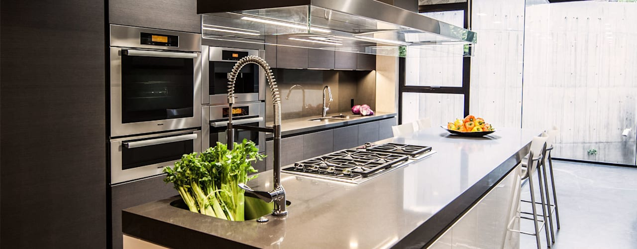 Cocinas de estilo minimalista de grupoarquitectura Minimalista