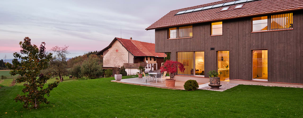 Houses by Giesser Architektur + Planung, Country