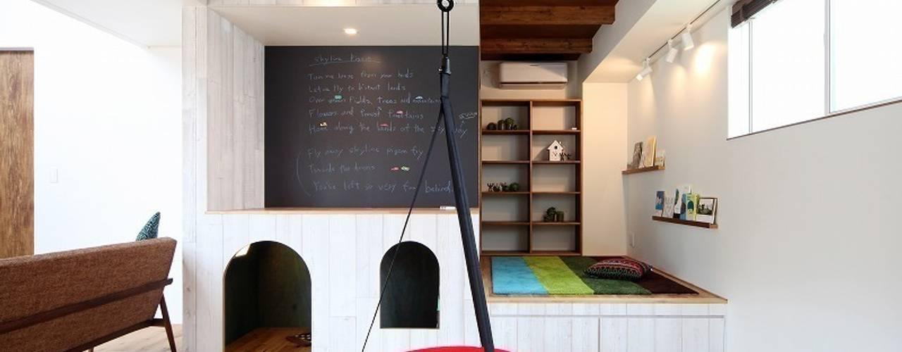 子供の成長を促す家 / zuiun: zuiun建築設計事務所 / 株式会社 ZUIUNが手掛けた和室です。