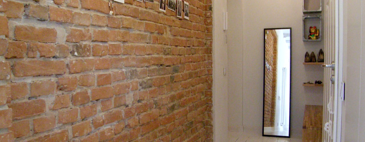 Scandinavian style corridor, hallway& stairs by Mint&Brisk Scandinavian