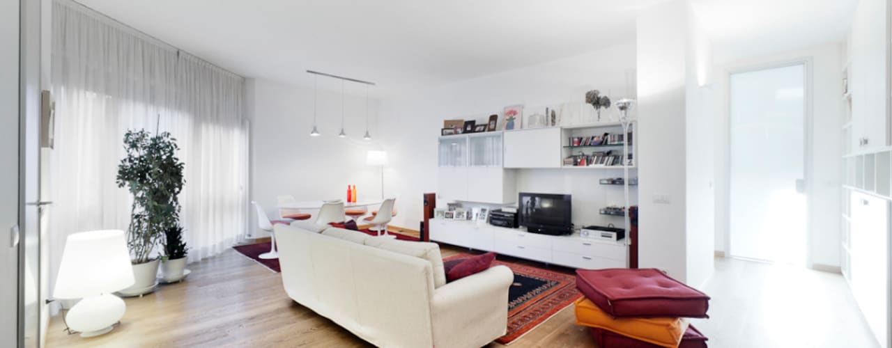 Modern Living Room by 23bassi studio di architettura Modern