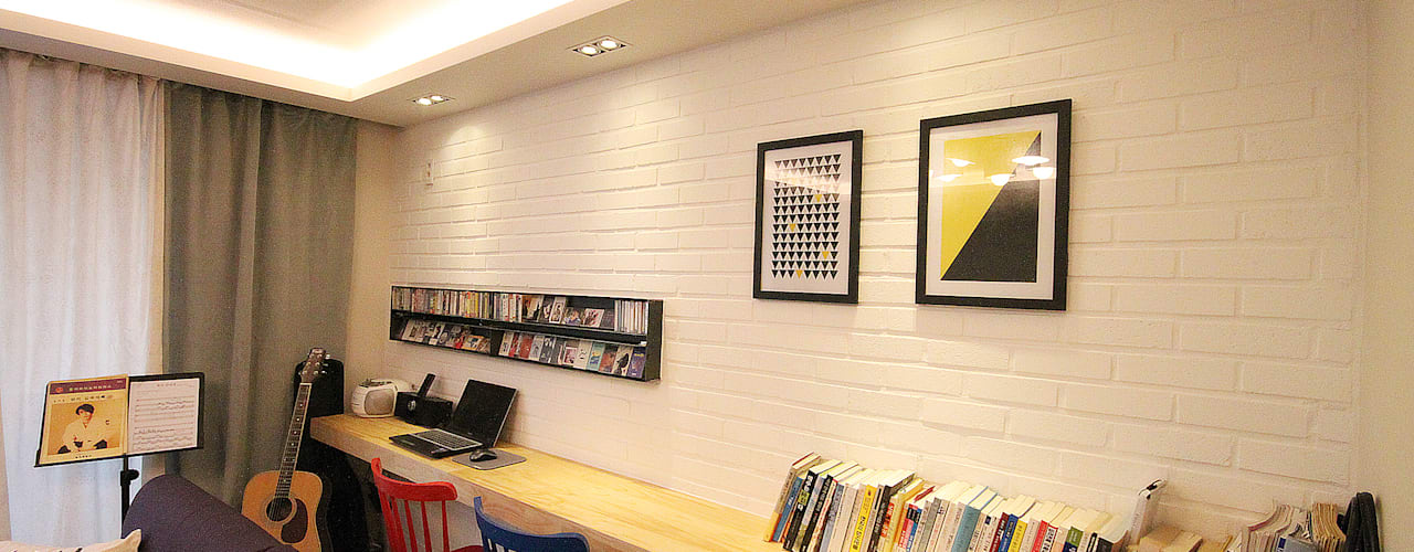 Living room by 앤드컴퍼니, Modern
