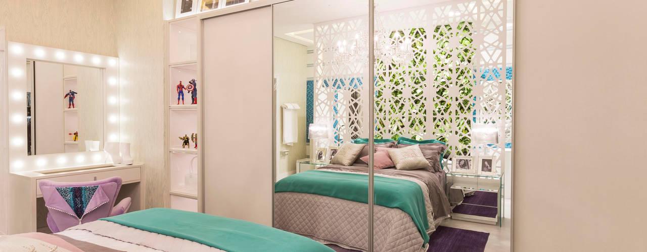Moderne Schlafzimmer von Patrícia Hagobian Interiores Modern