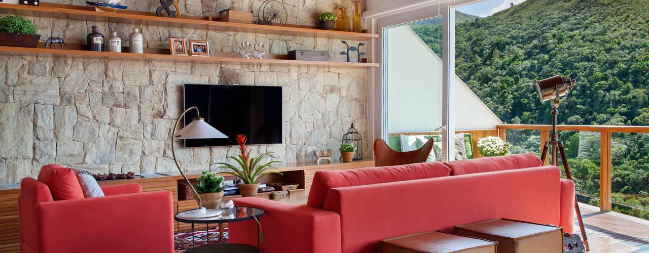 country Living room by sadala gomide arquitetura