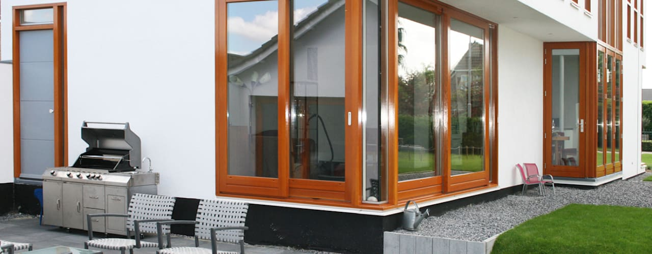 WONING GDB te BREDA Moderne balkons, veranda's en terrassen van ddp-architectuur Modern