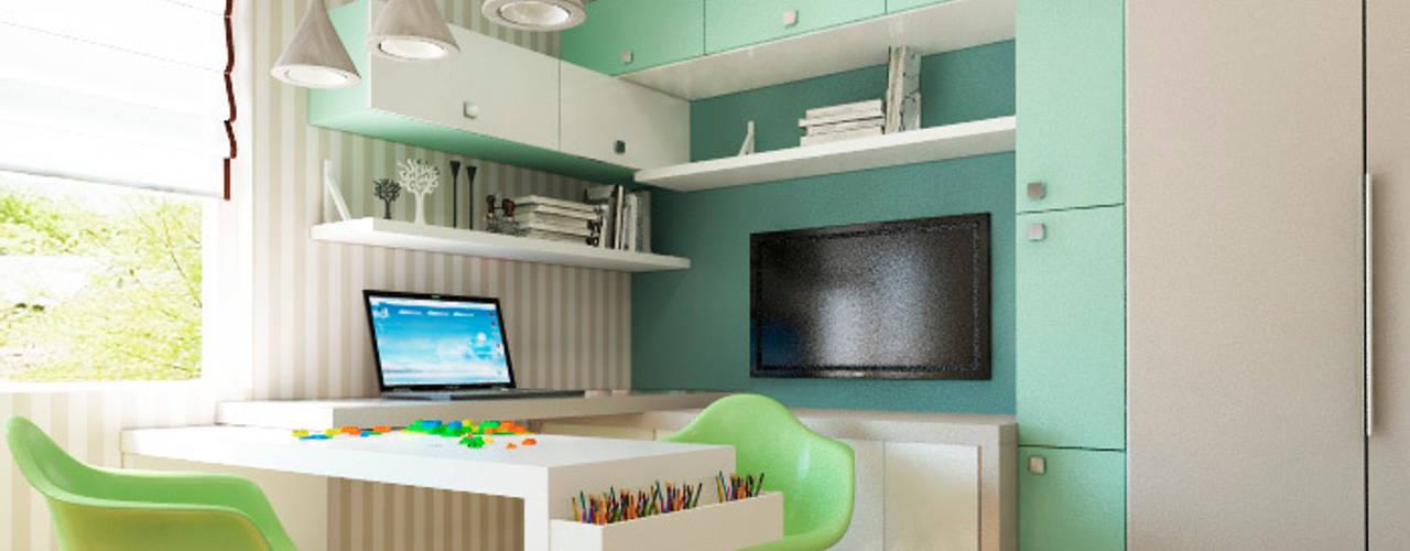 Акварельные карандаши: Детские комнаты в . Автор – Sweet Hoome Interiors,