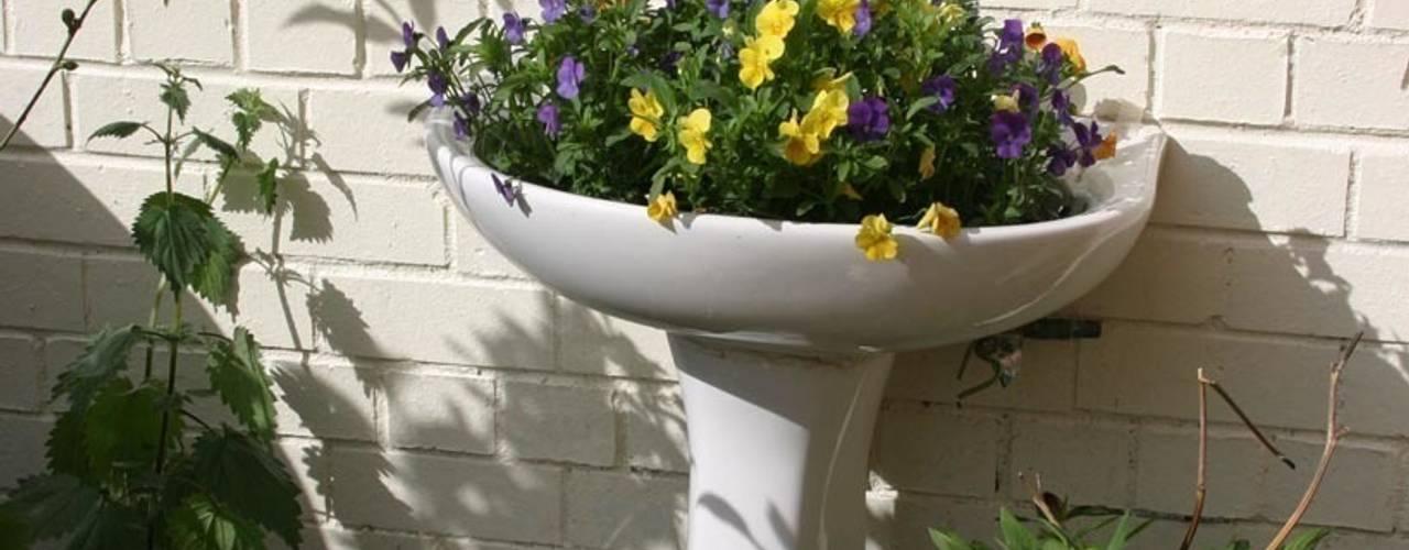 Home Sweet Home Jardines de estilo ecléctico de Donna Walker Design Ecléctico