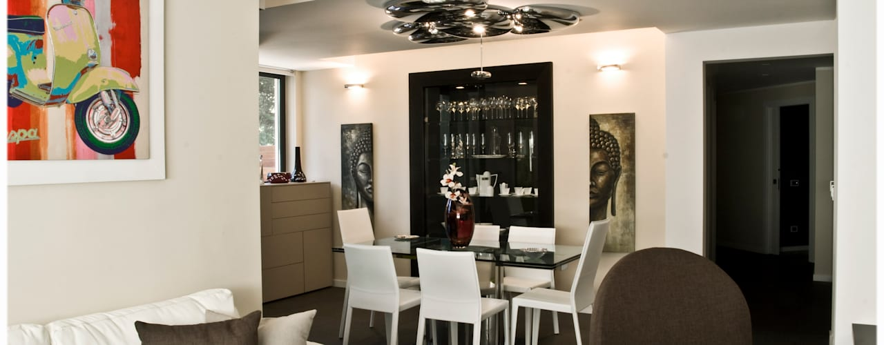 Modern dining room by Ignazio Buscio Architetto Modern
