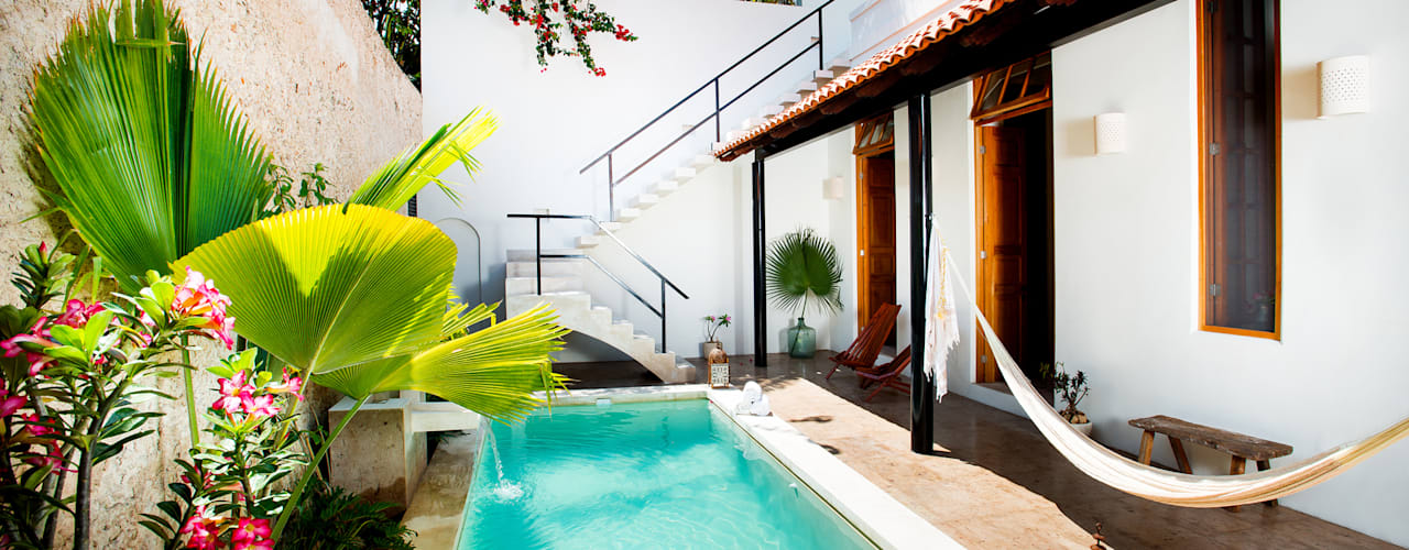 Balcon, Veranda & Terrasse originaux par Taller Estilo Arquitectura Éclectique