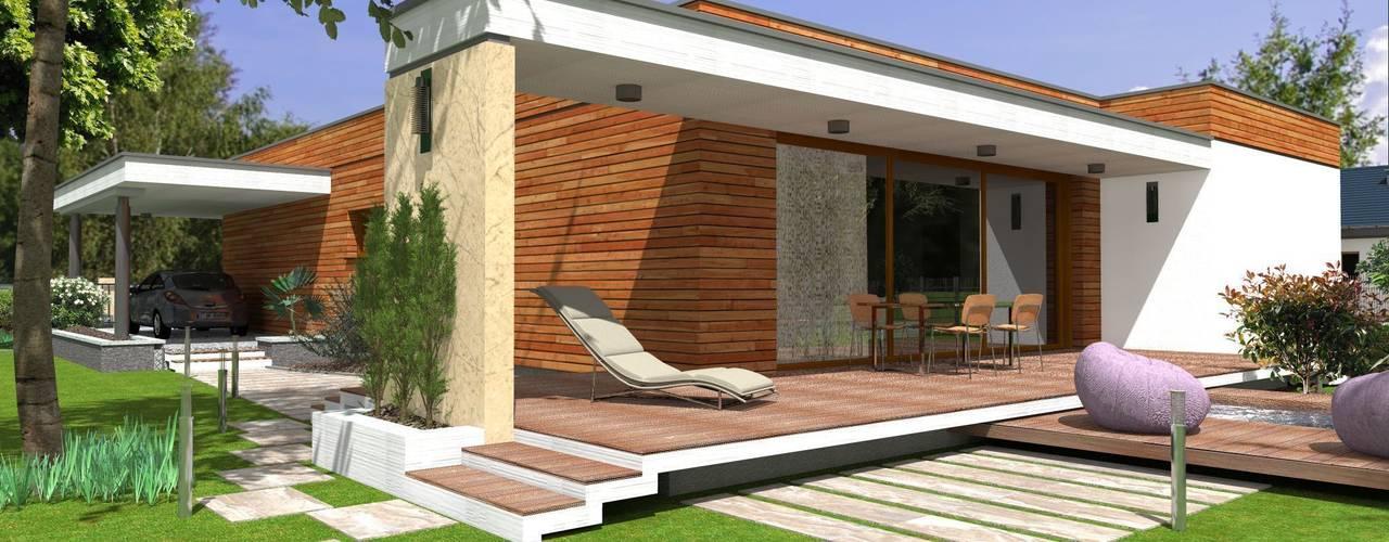 Modern houses by ABC Pracownia Projektowa Bożena Nosiła - 1 Modern