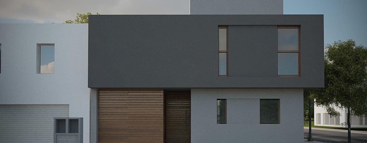 Casas de estilo  por ARstudio