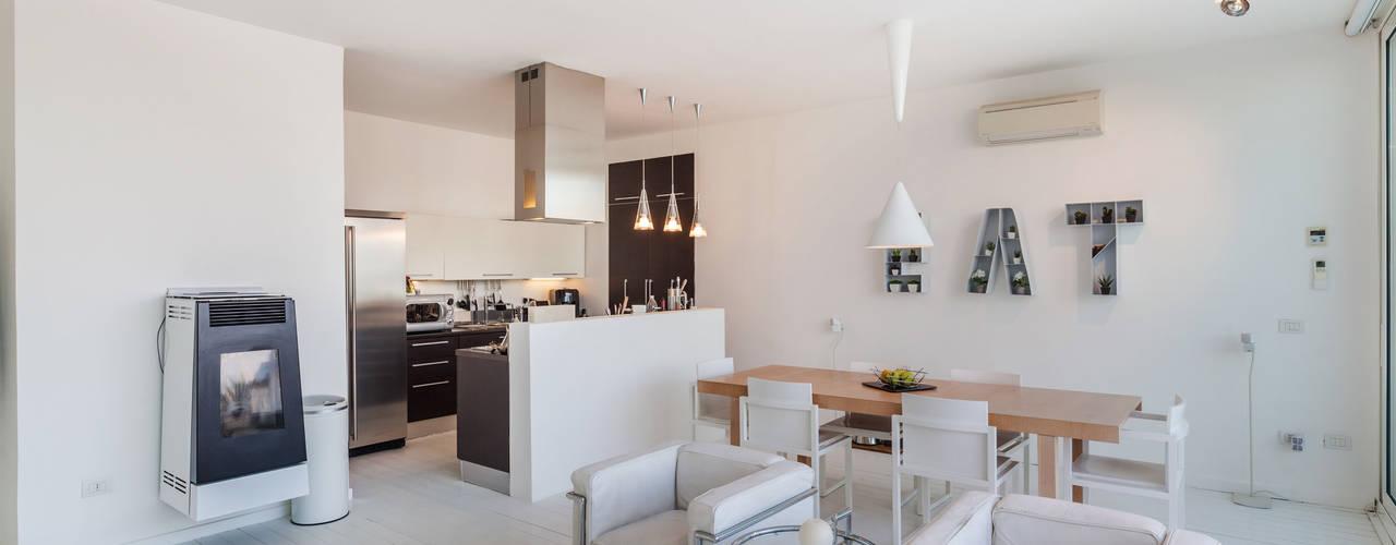 Come collegare e separare efficacemente cucina e soggiorno for Pavimenti per cucina e soggiorno
