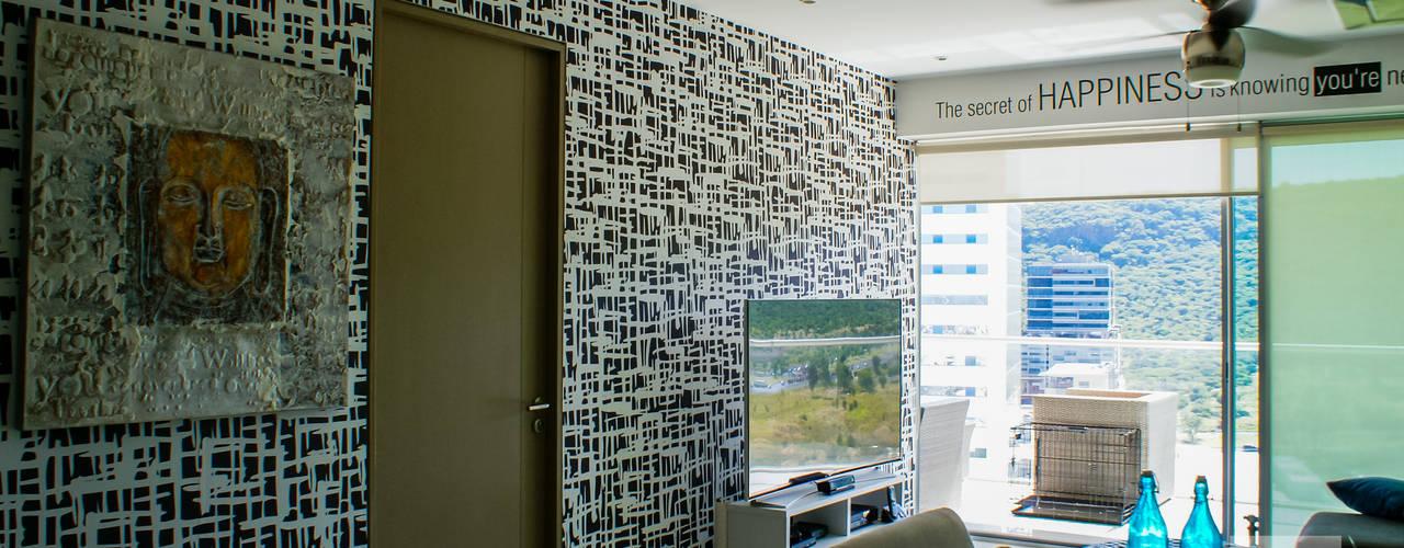 Salas de estilo  por Ambientes con Arte