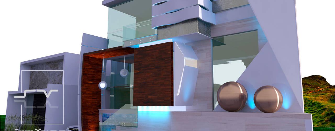 CASA CL Casas modernas de Sergio Villafuerte -ARQUITECTOS- Moderno