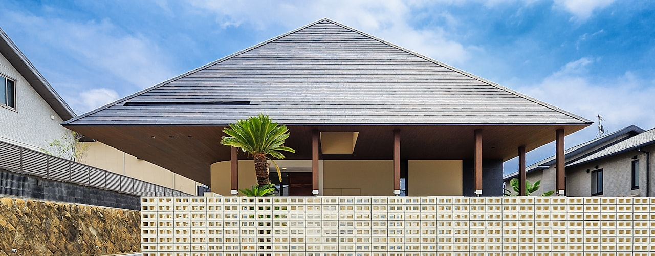 Rumah Gaya Asia Oleh 一級建築士事務所haus Asia