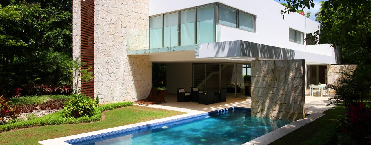 Häuser von Enrique Cabrera Arquitecto, Modern