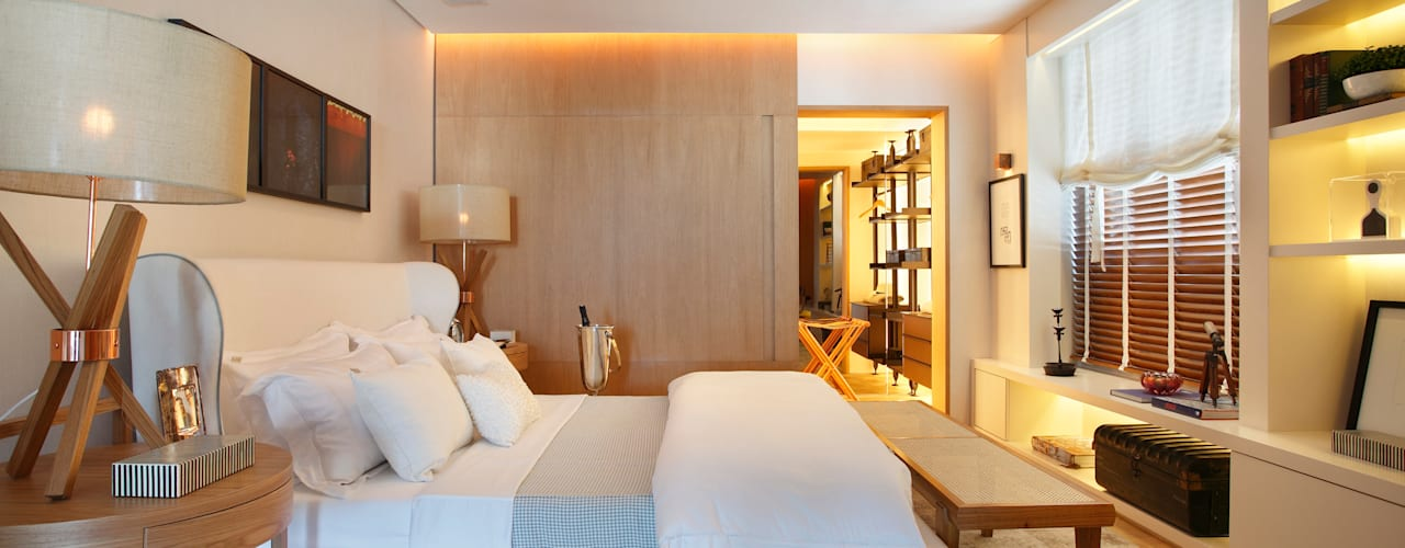 Modern style bedroom by BC Arquitetos Modern
