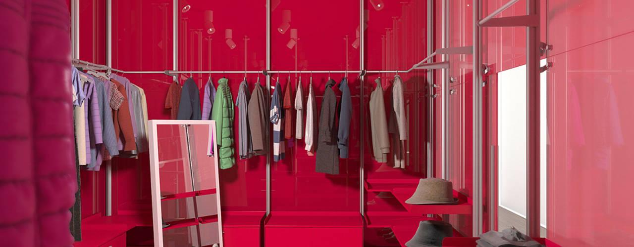 Minimalist dressing room by Nox Minimalist