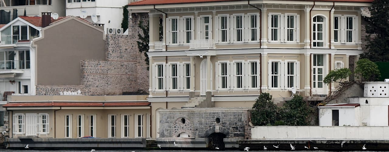 Kandilli'de Yalı Öztek Mimarlık Restorasyon İnşaat Mühendislik Klasik