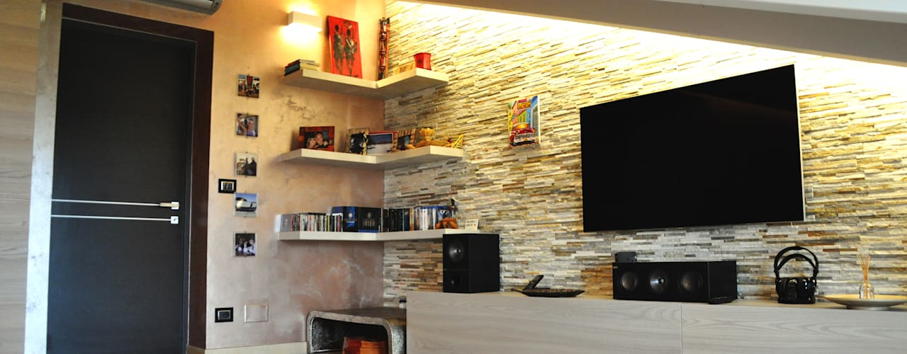 Modern style media rooms by sposarchi Modern