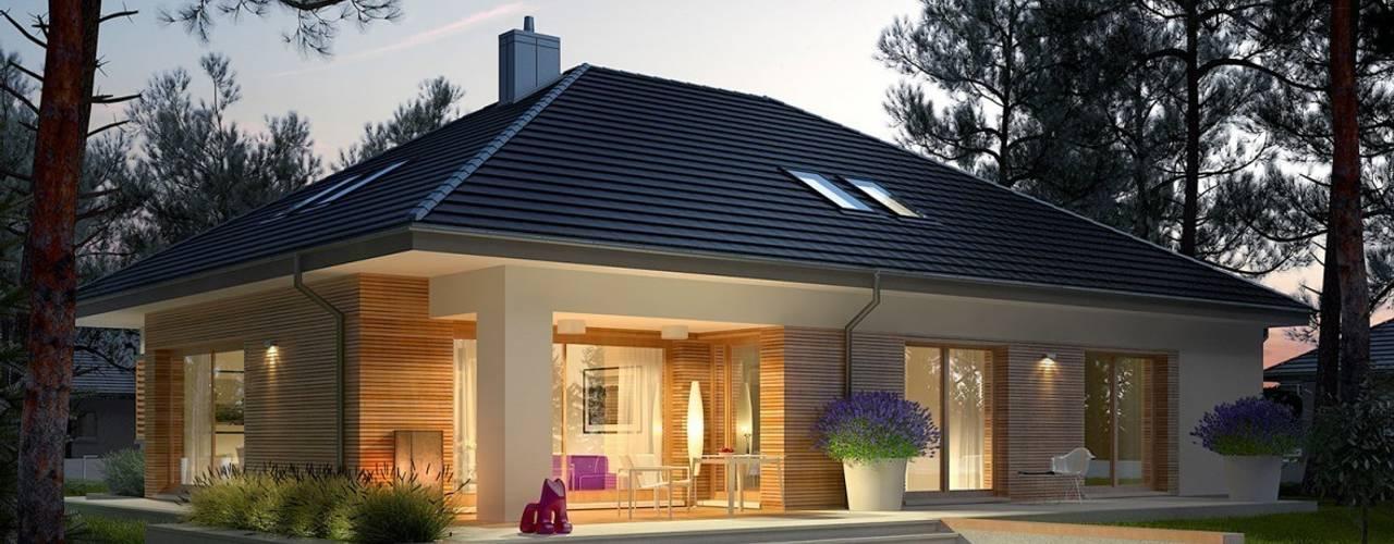 منازل تنفيذ Pracownia Projektowa ARCHIPELAG , حداثي