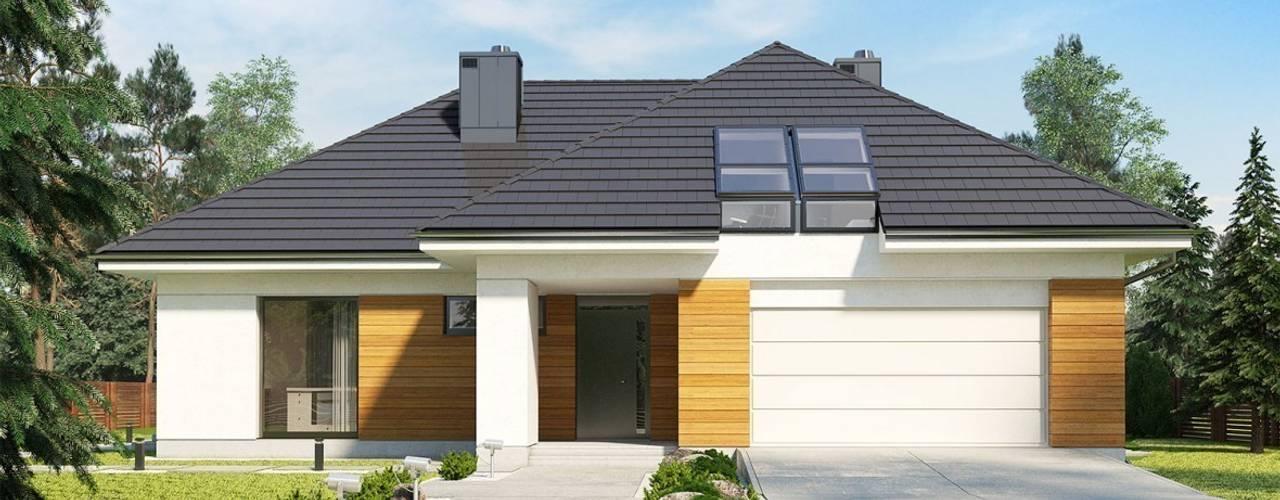 Houses by Pracownia Projektowa ARCHIPELAG