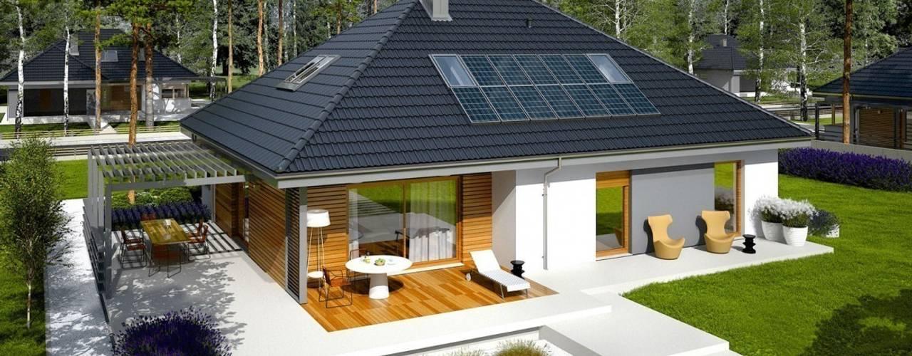 บ้านและที่อยู่อาศัย โดย Pracownia Projektowa ARCHIPELAG, โมเดิร์น