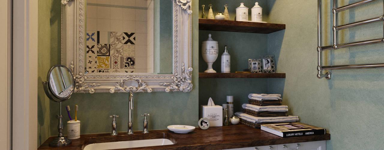 Baños de estilo industrial por Aiya Design