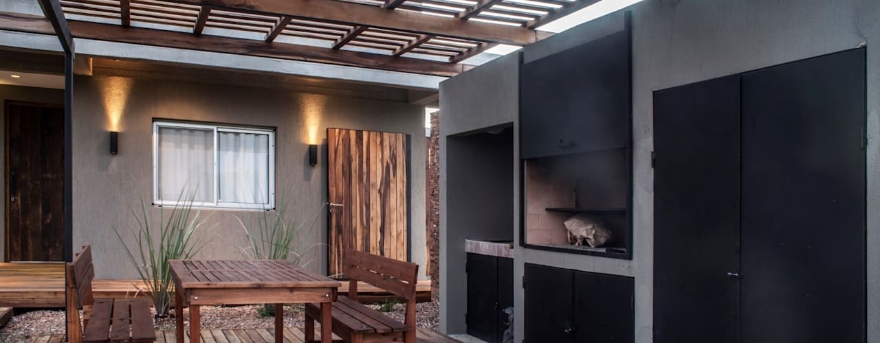 Projekty,  Domy zaprojektowane przez FAARQ - Facundo Arana Arquitecto & asoc.