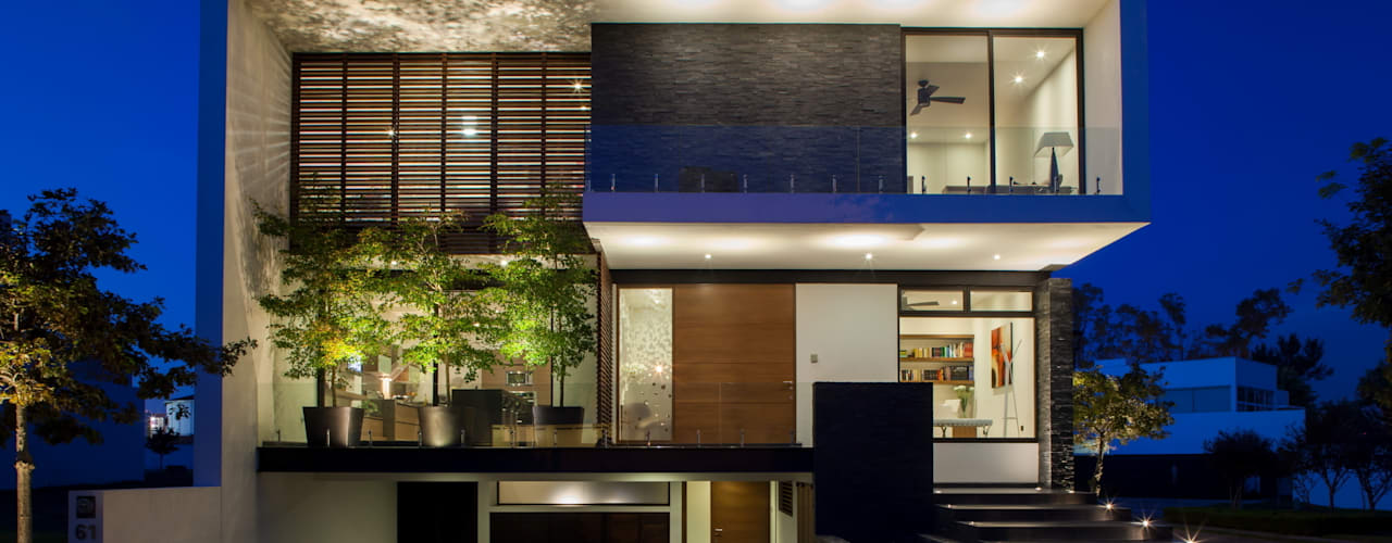 Rumah Modern Oleh GLR Arquitectos Modern