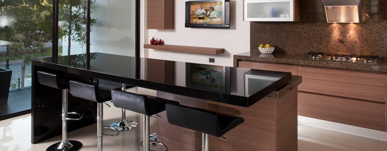 20 cocinas de madera con isla que te van a fascinar - Ver muebles de cocina modernos ...