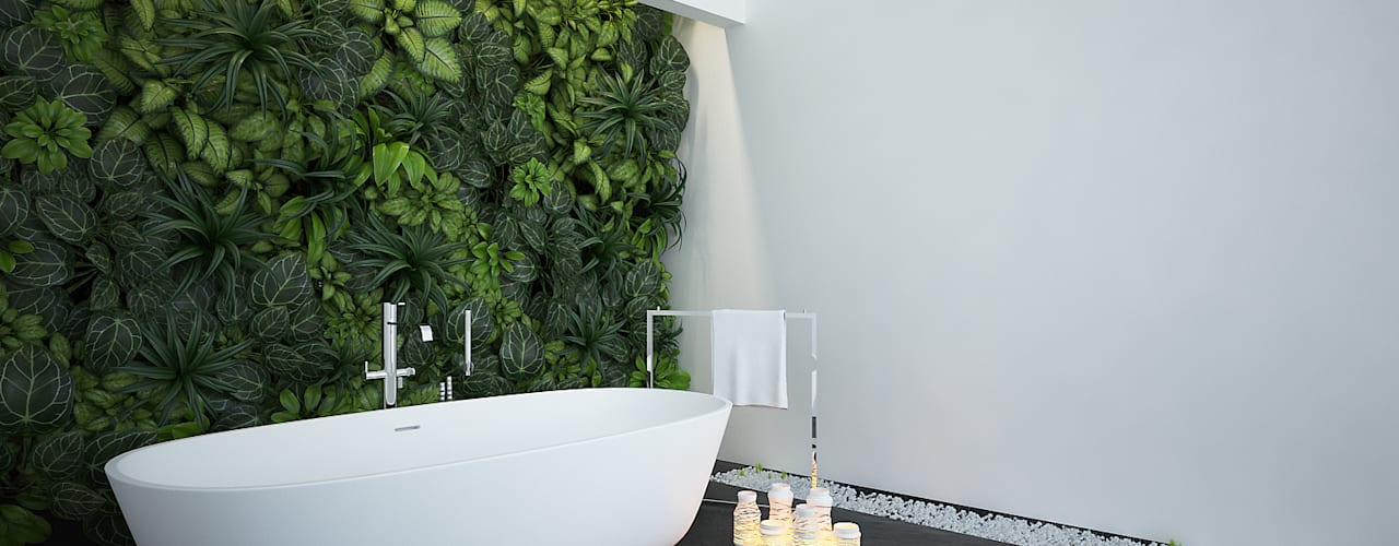 Modern Bathroom by olivia Sciuto Modern