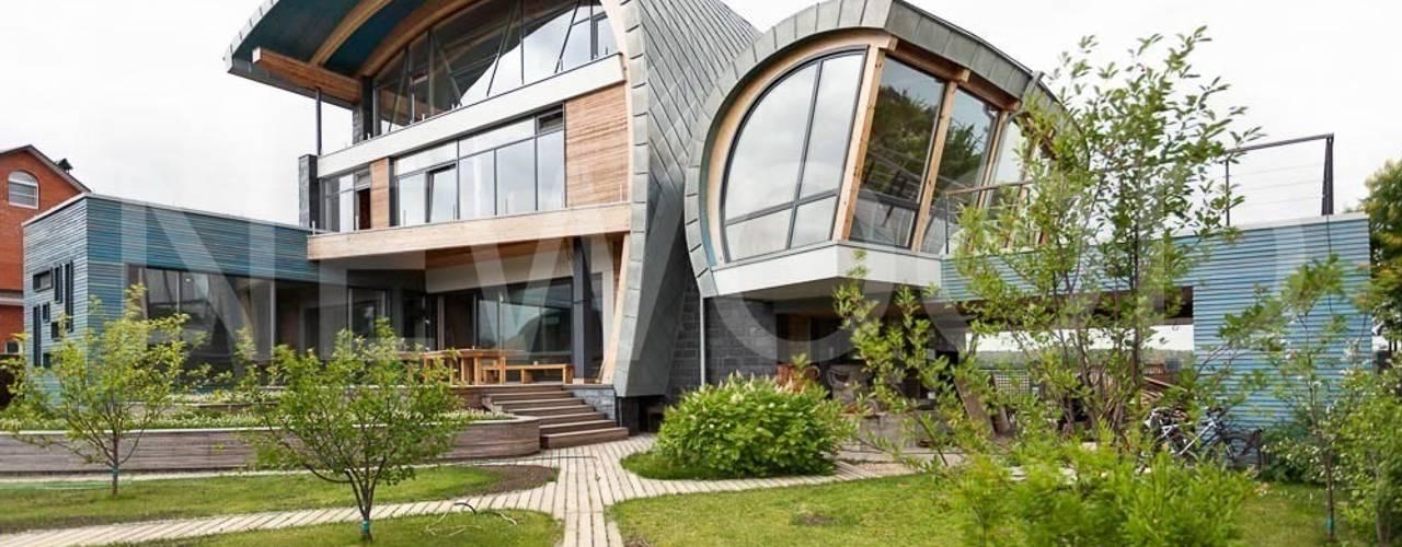 شبابيك  تنفيذ NEWOOD - Современные деревянные дома,