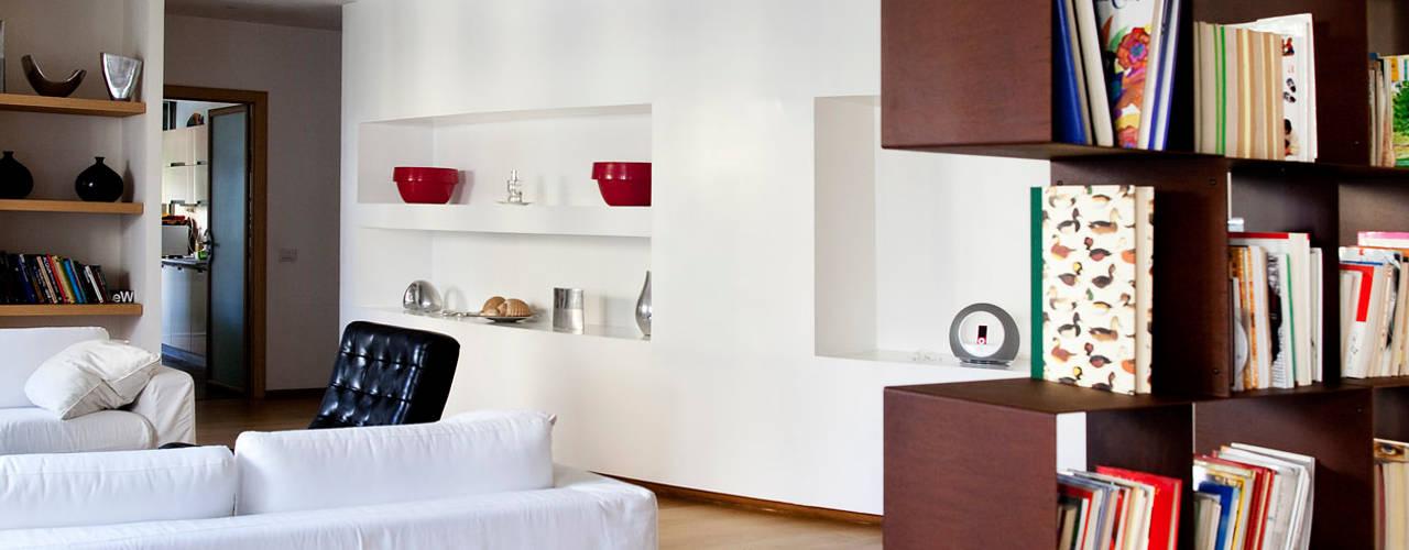 MAT architettura e design Salones de estilo moderno