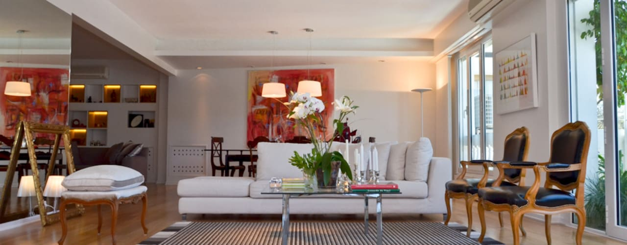 GUTMAN+LEHRER ARQUITECTAS Modern living room